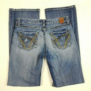 Womens BKE Kate Medium Wash Jeans Boot Cut Stretch